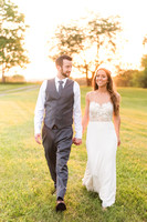 Bride & Groom and Sunset Portraits
